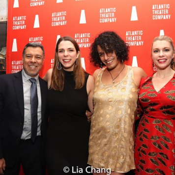 Dave Anzuelo, Molly Collier, Esteban Andres Cruz & Andrea Syglowski. Photo by Lia Chang