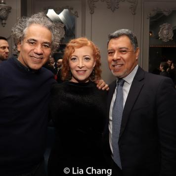 John Ortiz, Elizabeth Canavan and David Anzuelo. Photo by Lia Chang