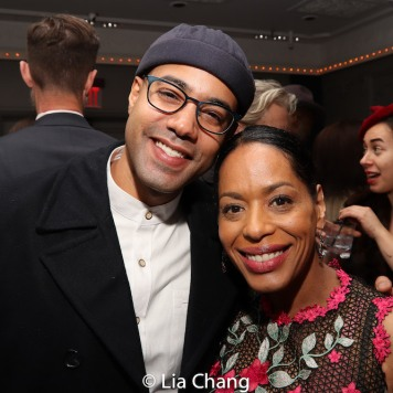 Sean Carvajal and Liza Colón-Zayas. Photo by Lia Chang