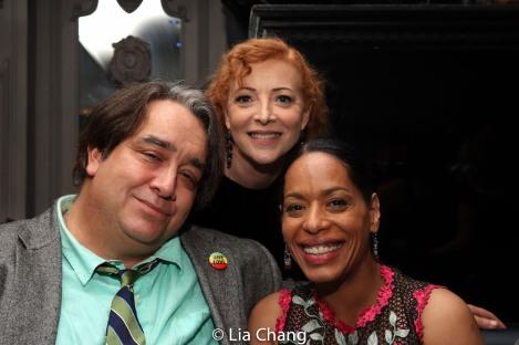 Stephen Adly Guirgis, Elizabeth Canavan, Liza Colón-Zayas. Photo by Lia Chang