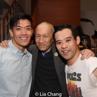 Moses Villarama, Francis Jue and Joe Ngo. Photo by Lia Chang