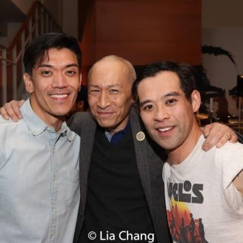 Moses Villarama, Francis Jue and Joe Ngo. Photo by Lia Chang