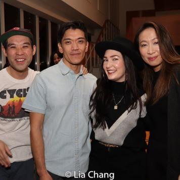 Joe Ngo, Moses Villarama, Cassandra Lopez and Jane Lui. Photo by Lia Chang