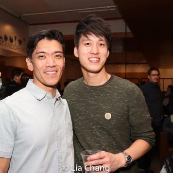 Moses Villarama and Julian Leong. Photo by Lia Chang
