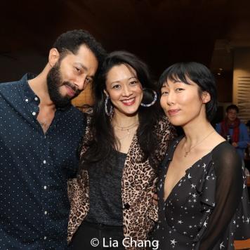 William DeMeritt, Satomi Blair and Cleo Gray. Photo by Lia Chang