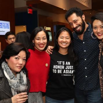 Eric Quill, Lia Chang, Shannon Tyo, William DeMeritt and Satomi Blair. Photo by Garth Kravits