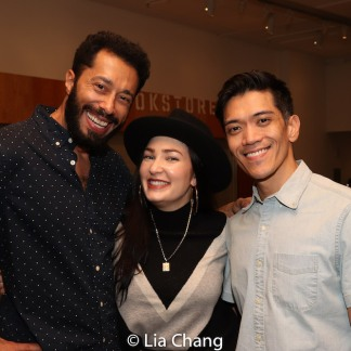 William DeMeritt, Cassandra Lopez and Moses Villarama. Photo by Lia Chang