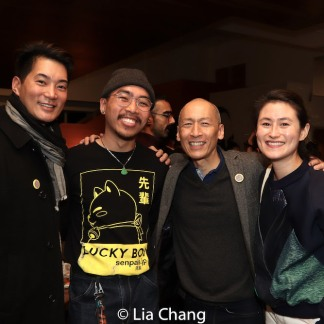 Austin Ku, Francis Jue and Sunny Hitt. Photo by Lia Chang