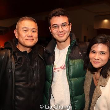 Chay Yew, Nicholas Polonio and Megan Chan Meinero. Photo by Lia Chang