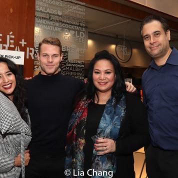 Courtney Reed, Brock Harris, Sibyl Reymundo-Santiago. Photo by Lia Chang