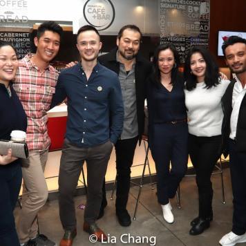 Holly Chou, Jefferey Omura, Tina Chilip, Kristin Pomeroy, Soriya K. Chum. Photo by Lia Chang