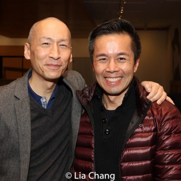 Francis Jue and Steven Eng. Photo by Lia Chang
