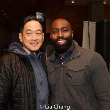 Paul Juhn and Cedric Lamar. Photo by Lia Chang