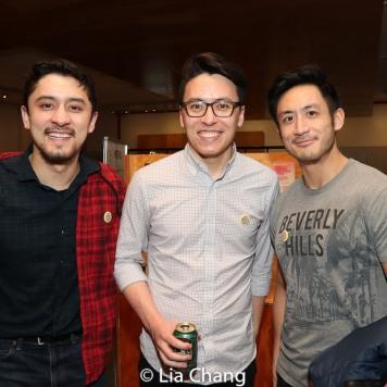 Two Jasons and Hansel Tan. Photo by Lia Chang
