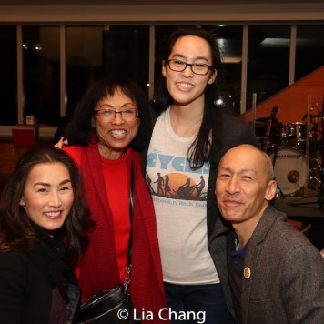 Baayork Lee, Lauren Yee and Francis Jue. Photo by Lia Chang