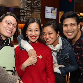 Andrew Cristi, Lia Chang, Renee Albulario and J. Oconer Navarro. Photo by Garth Kravits