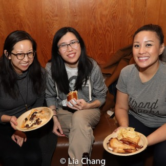 Melissa Li (center) and guests. Photo by Lia Chang