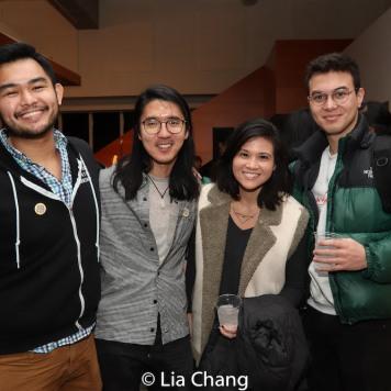 Gaven Trinidad, Yilong Liu and Nicholas Polonio. Photo by Lia Chang
