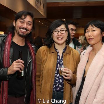 Sean Devare, Nicholas Polonio and Cleo Gray. Photo by Lia Chang