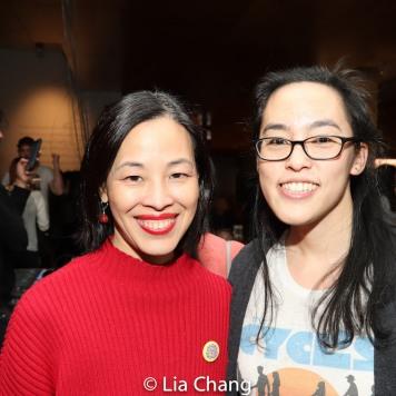 Lia Chang and Lauren Yee. Photo by Garth Kravits
