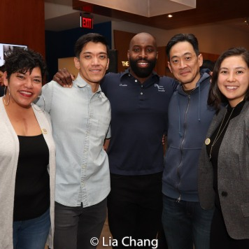 Moses Villarama, Cedric Lamar, Paul Juhn and Rose Van Dyne. Photo by Lia Chang