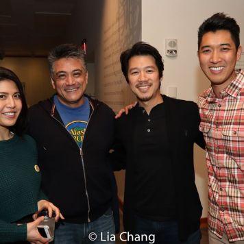 Carolina Do, Ariel Estrada, Jeff Tang and Danainan Vin Kridakorn. Photo by Lia Chang