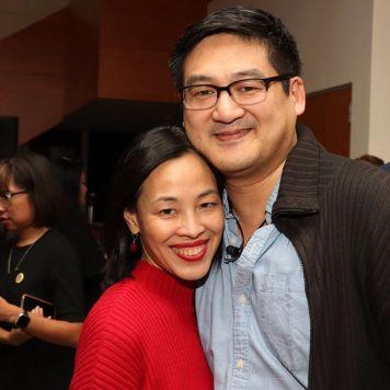 Lia Chang and Timothy Huang. Photo by Garth Kravits