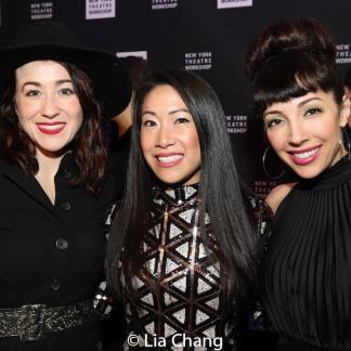 Jessie Shelton, Kay Trinidad, Yvette Gonzalez-Nacer. Photo by Lia Chang