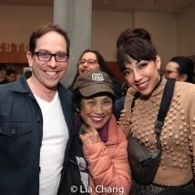 Garth Kravits, Pat Suzuki and Yvette Gonzalez-Nacer. Photo by Lia Chang