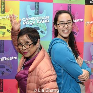 Pat Suzuki and Lauren Yee. Photo by Lia Chang