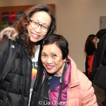 Jane Lui and Pat Suzuki. Photo by Lia Chang