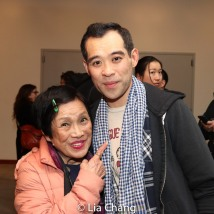 Pat Suzuki and Joe Ngo. Photo by Lia Chang