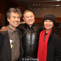 David Henry Hwang, Chay Yew and Jeanne Sakata. Photo by Lia Chang