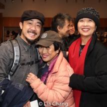 Abraham Kim, Pat Suzuki and Jeanne Sakata. Photo by Lia Chang
