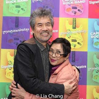 David Henry Hwang and Pat Suzuki. Photo by Lia Chang