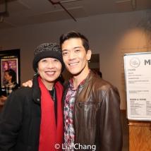 Jeanne Sakata and Moses Villarama. Photo by Lia Chang