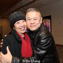 Jeanne Sakata and Chay Yew. Photo by Lia Chang