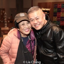 Pat Suzuki and Chay Yew. Photo by Lia Chang