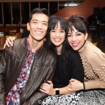 Moses Villarama, Courtney Reed, Yvette Gonzalez-Nacer. Photo by Lia Chang