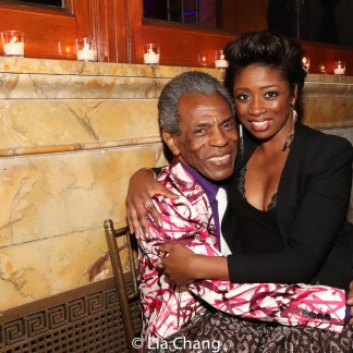 André De Shields and Montego Glover. Photo by Lia Chang