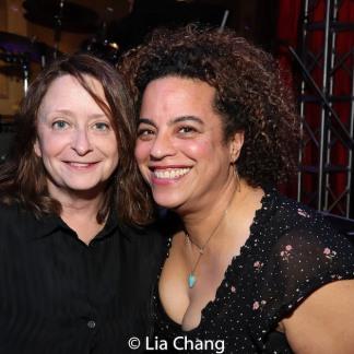 Rachel Dratch and Marika Hughes. Photo by Lia Chang