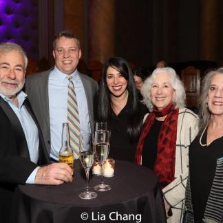 David Chavkin, Jake Heinrichs, Rachel Chavkin with her mom and aunt. Photo by Lia Chang