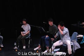 Jihae Park, Julian Leong and Diana Oh. Photo by Lia Chang