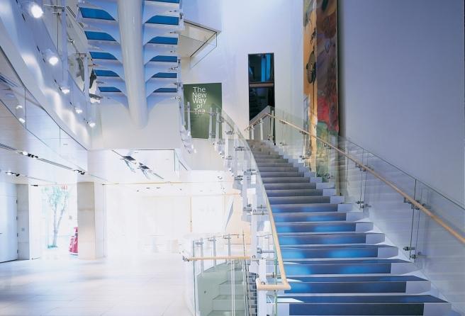 Asia Society Museum lobby (Frank Oudeman)