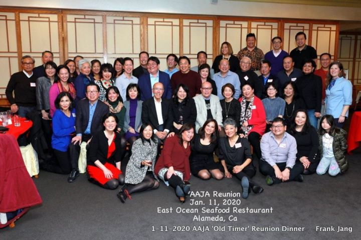 AAJA Bay Area Lunar New Year dinner at East Ocean Seafood Restaurant in Alameda, Ca on January 11, 2020. Photo by Frank Jang