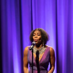 """Darlesia Cearcy performing """"Your Daddy's Son."""" Courtesy of The Cooper Union/Photo by Marget Long"""