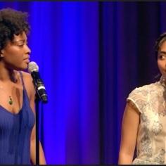"Kayla Davion and Lianah Sta. Ana ""Easy as Life"" from the musical ""Aida"""
