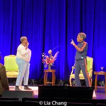 Lillias White and André De Shields. Photo by Lia Chang