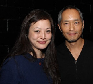 Carla Ching and Ken Leung. Photo by Lia Chang