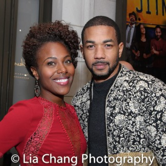 DeWanda Wise and Alano Miller. Photo by Lia Chang